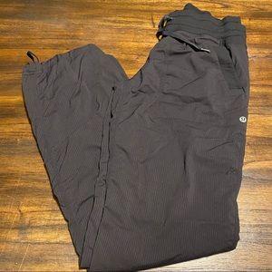 Lululemon dance studio lined pants size 4 black